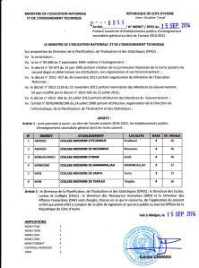 Arrete_portant_ouverture_de_6_college_2014-2015