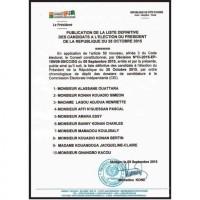 PRÉSENTATION GÉOGRAPHIQUE DES 16 CAFOP IVOIRIENS. MISE A JOUR LE 09.09.2015